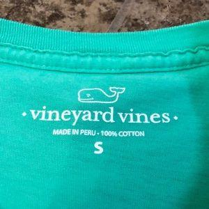 Vineyard Vines Shirts - VINEYARD VINES GREEN EDSFTG SHORT SLEEVE TEE